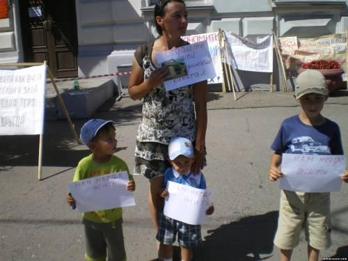"""Митинг """"против нарушения прав человека в Омской об"""